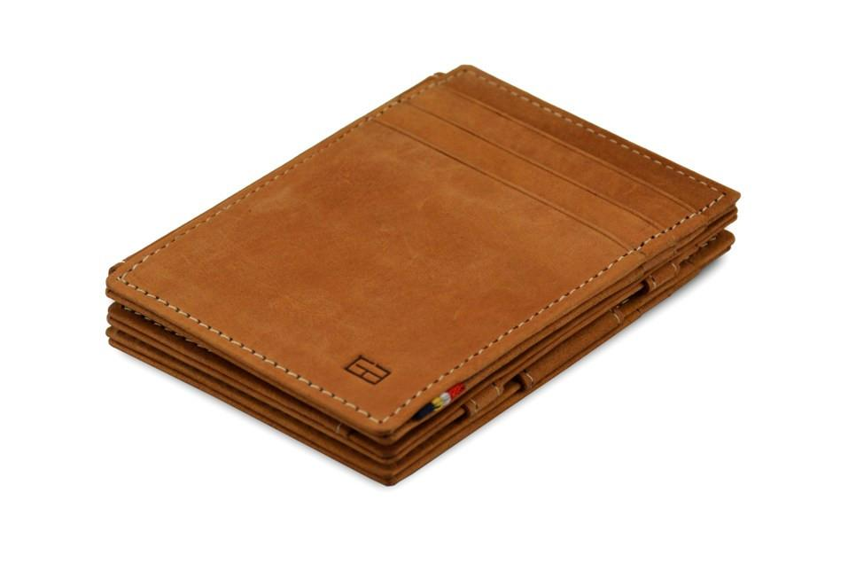 Magic Wallet Garzini Magistrale - Camel Brown - 1