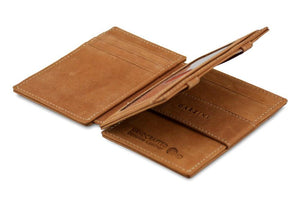 Magic Wallet Garzini Magistrale - Camel Brown - 3