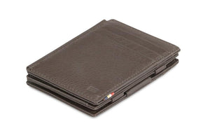 Magistrale Magic Wallet Nappa - Chocolate Brown - 1