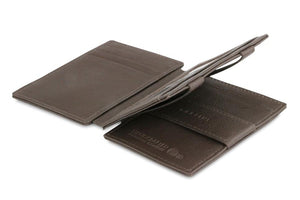 Magistrale Magic Wallet Nappa - Chocolate Brown - 3