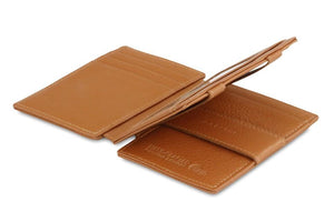 Magistrale Magic Wallet Nappa - Cognac Brown - 3