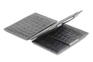 Magistrale Magic Wallet Croco - Croco Black - 3