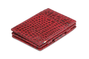Magistrale Magic Wallet Croco - Croco Burgundy - 1