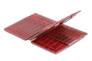 Magistrale Magic Wallet Croco - Croco Burgundy - 3
