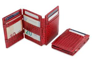 Magistrale Magic Wallet Croco - Croco Burgundy - 5