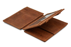 Magic Wallet Garzini Magistrale - Java Brown - 3