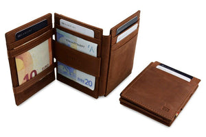 Magic Wallet Garzini Magistrale - Java Brown - 5