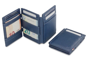 Magistrale Magic Wallet Nappa - Navy Blue - 5