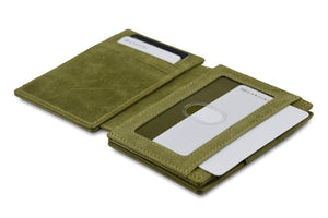 Magic Wallet Garzini Magistrale - Olive Green - 4