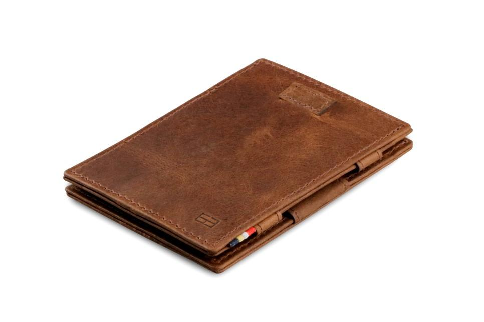 Cavare Magic Wallet Card Sleeves Brushed - Brushed Brown - 1