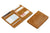 Cavare Magic Wallet Card Sleeves Brushed - Brushed Cognac - 5