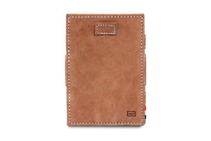 Cavare Magic Wallet Card Sleeves Vintage - Camel Brown - 2