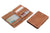 Cavare Magic Wallet Card Sleeves Vintage - Camel Brown - 5