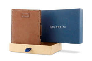 Cavare Magic Wallet Card Sleeves Vintage - Camel Brown - 9