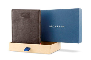 Cavare Magic Wallet Card Sleeves Nappa - Chocolate Brown - 8