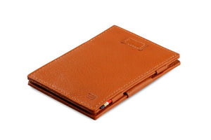 Cavare Magic Wallet Card Sleeves Nappa - Cognac Brown - 1