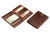 Cavare Magic Wallet Card Sleeves Croco - Croco Brown - 5