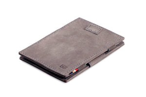 Cavare Magic Wallet Card Sleeves Vintage - Metal Grey - 1
