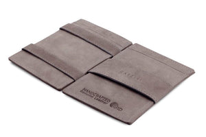 Cavare Magic Wallet Card Sleeves Vintage - Metal Grey - 3