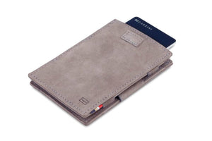 Cavare Magic Wallet Card Sleeves Vintage - Metal Grey - 7