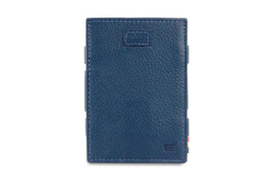 Cavare Magic Wallet Card Sleeves Nappa - Navy Blue - 2
