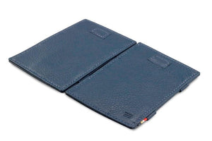 Cavare Magic Wallet Card Sleeves Nappa - Navy Blue - 4