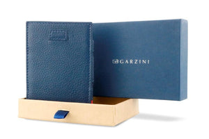 Cavare Magic Wallet Card Sleeves Nappa - Navy Blue - 8