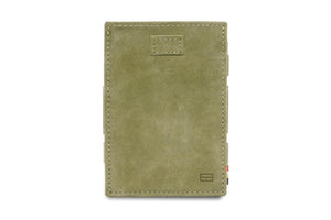 Cavare Magic Wallet Card Sleeves Vintage - Olive Green - 2
