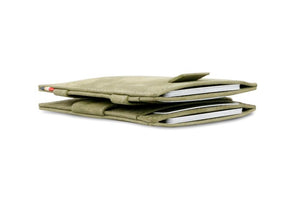Cavare Magic Wallet Card Sleeves Vintage - Olive Green - 6