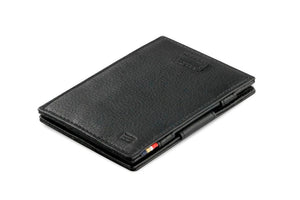 Cavare Magic Wallet Card Sleeves Nappa - Raven Black - 1