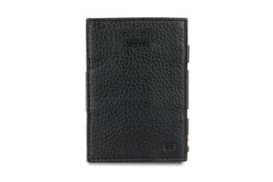 Cavare Magic Wallet Card Sleeves Nappa - Raven Black - 2