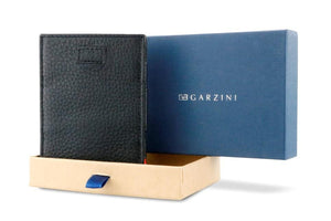 Cavare Magic Wallet Card Sleeves Nappa - Raven Black - 8