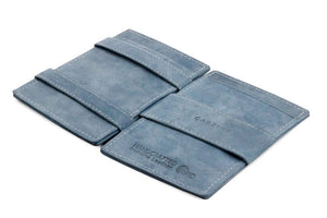 Cavare Magic Wallet Card Sleeves Vintage - Sapphire Blue - 3