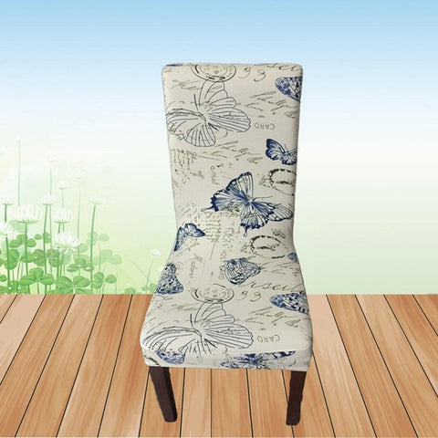 Meijuner Flower Printing Removable Chair Cover
