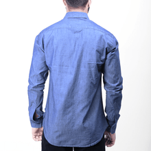Load image into Gallery viewer, Denim Oxford, Button Down Shirts, the Octo, the Octo™ Studios