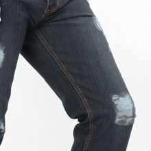 Load image into Gallery viewer, Draco Ripped Denim Jeans, Chino, the Octo, the Octo™ Studios