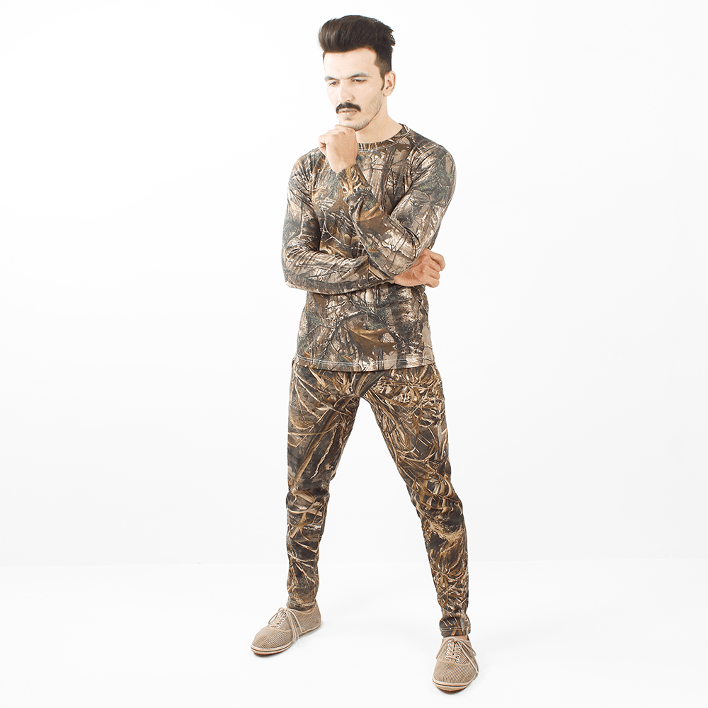 Hunter Camo Shirt & Trousers