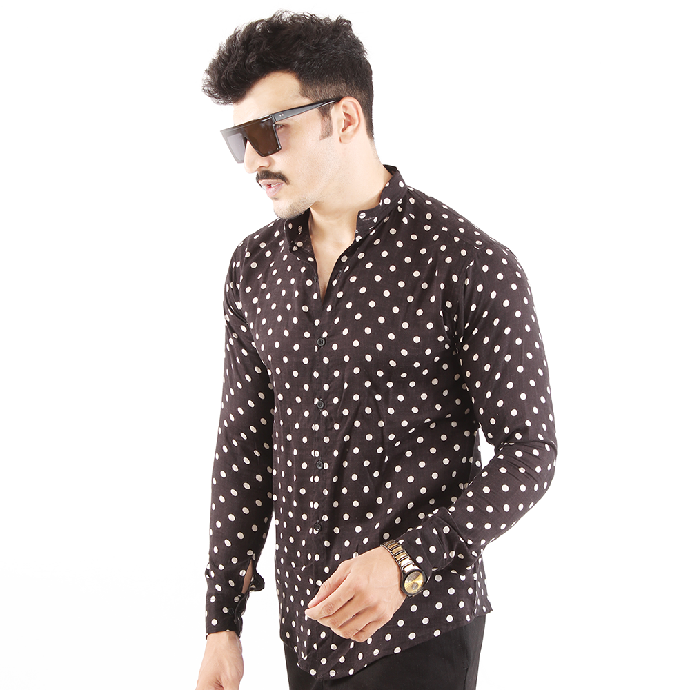 Polka Dots Super Light-Weight Shirt