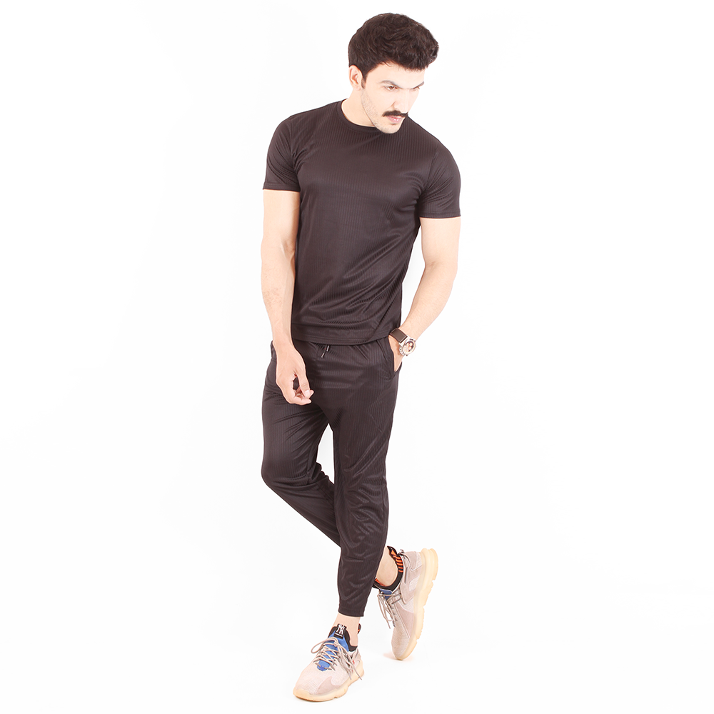 Enigma Super Light Weight Trousers & Shirt w/ Thin Stripes