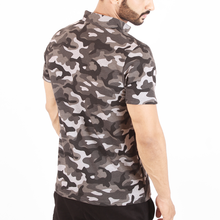 Load image into Gallery viewer, Camo Snap Polo