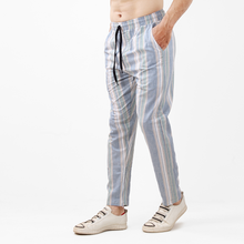 Load image into Gallery viewer, Pastel Woven Fabric Trousers