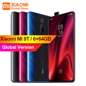 Global Version Xiaomi Mi 9T (Redmi K20) Mi9 T 6GB 64GB Full Screen 48 Million Super Wide-angle Pop-up Front Camera Smartphone