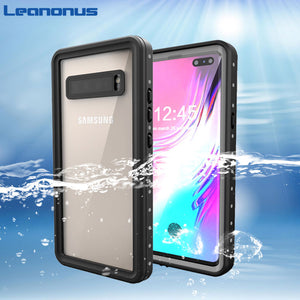 Outdoor Swim Proof Case For Samsung S10 5G S10 Plus Case Waterproof IP68 Swimming Case for Samsung Galaxy S10 5G S10 Full Cover