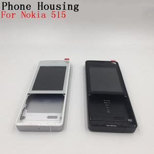 RTBESTOYZ Without Keyboard Battery Door Back Cover Housing Case Front Frame For Nokia 515 RM-952 With Volume Button