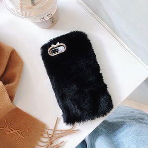 Warm Fur Silicone Cases For Motorola Moto E5 G6 G5s G5 G7 G4 C P30 Z2 Play Plus P30 Note One Power Play Soft Cover Housing