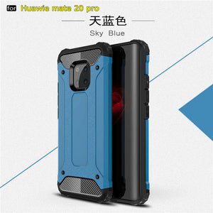 For Huawei Mate 20 Pro Case Hybrid Shockproof Hard Armor Heavy Duty Protection Rugged Back Cover For Mate 20X Coque Mate 20 Lite
