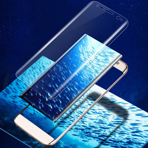 2019 New Popular Clear HD PET Screen Protector Cover Guard Film Guard for Samsung Galaxy S8 Screen Protector Tempered Glass