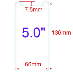 2Pcs/Lot 9H Hardness Tempered Glass For Highscreen Boost 3 Pro / Boost3 Pro / SE / Razar Pro 5 inch 2.5D Screen Protector Film