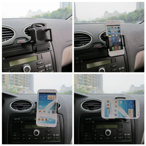 Most Popular New 360 Car Air Vent Mount Cradle Holder Stand for Mobile Phone Cellphone 1NDI 6VE6