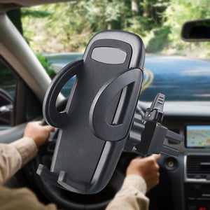 Popular Car Phone Holder Auto Navigation Stand Car Air Conditioning Outlet Mobile Phone Placement Rack Car Supplies Dropship